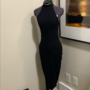 Dynamite Halter black dress